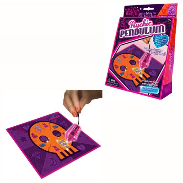 Wish Craft WishCraft Phychic Pendulum & Mystery Board - Fortune Telling Fun 25Q2
